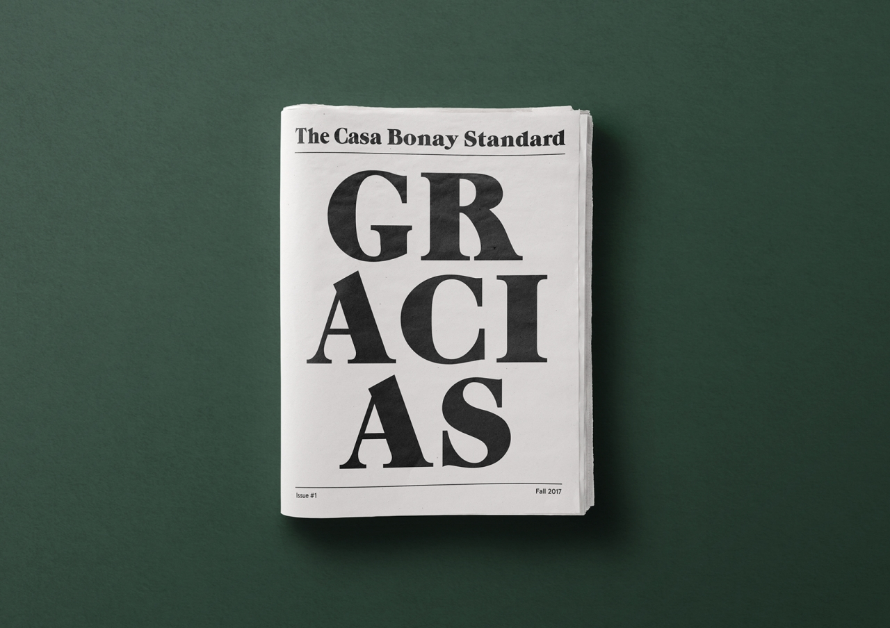 Pau Bonet — Creative & Art Director The Casa Bonay Standard
