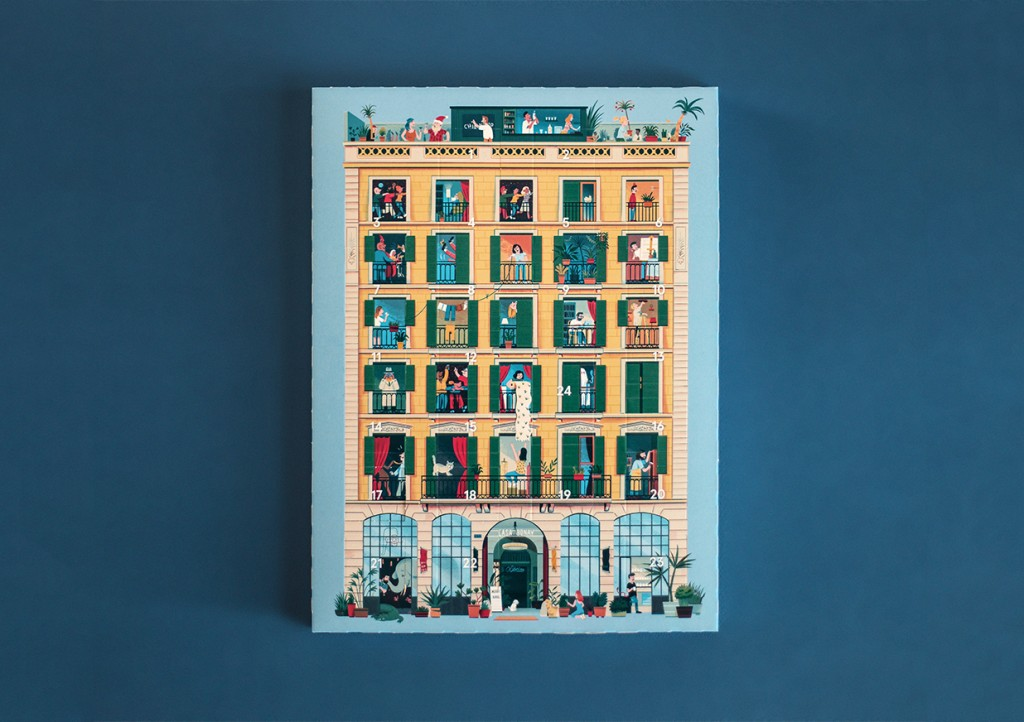 Pau Bonet — Creative & Art Director Casa Bonay Advent Calendar