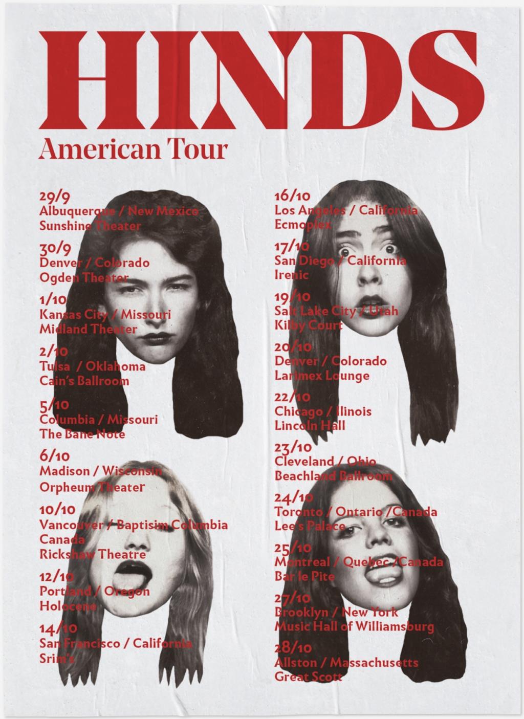 Pau Bonet — Creative & Art Director Hinds American Tour
