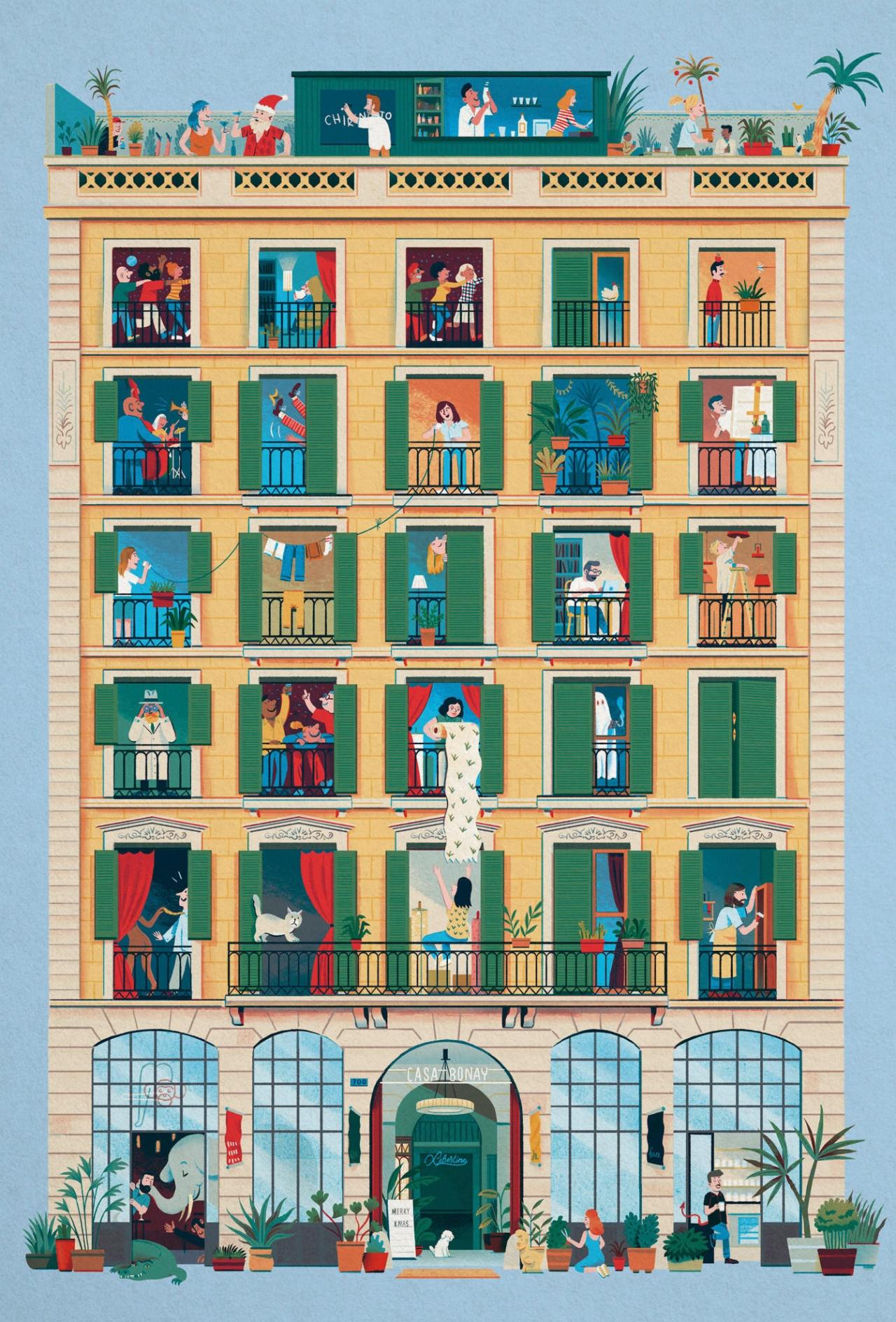 Pau Bonet — Creative & Art Director Casa Bonay Advent Calendar